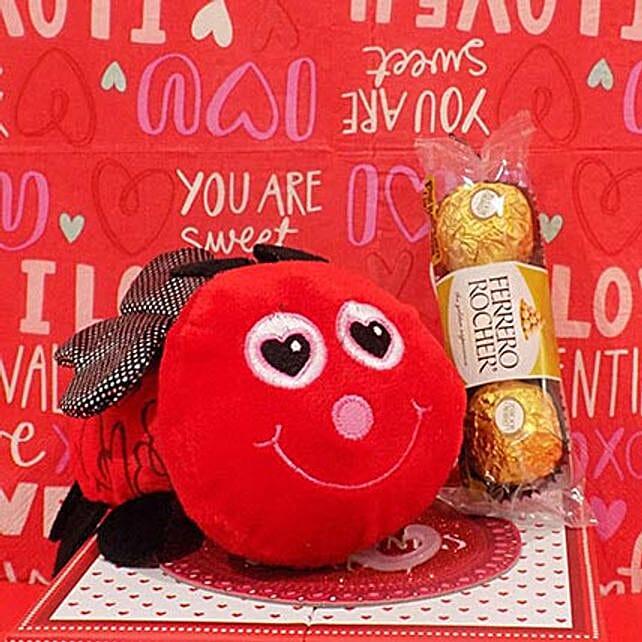 Love Bee N Chocolates Combo
