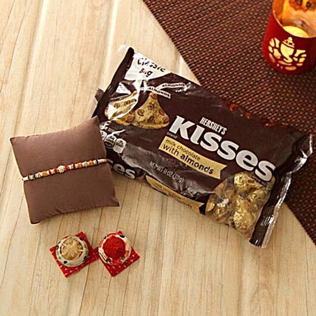 Lovely Rakhi with Hershey Kisses
