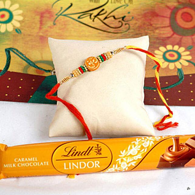Paisley Designer Zardozi Rakhi