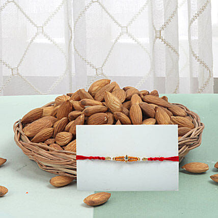 Rakhi With Almonds