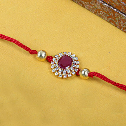 Red Sandstone Rakhi