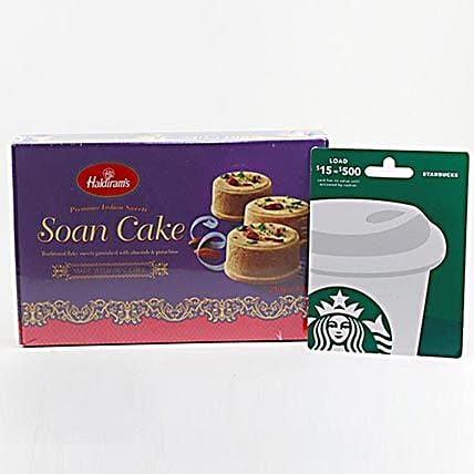 Starbucks Gift Card Sweets Combo