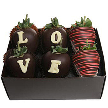 Strawberry Dipped In Belgian Chocolate