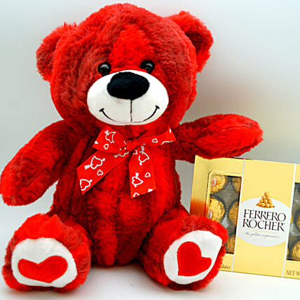 Teddy Bear N Ferrero Rocher