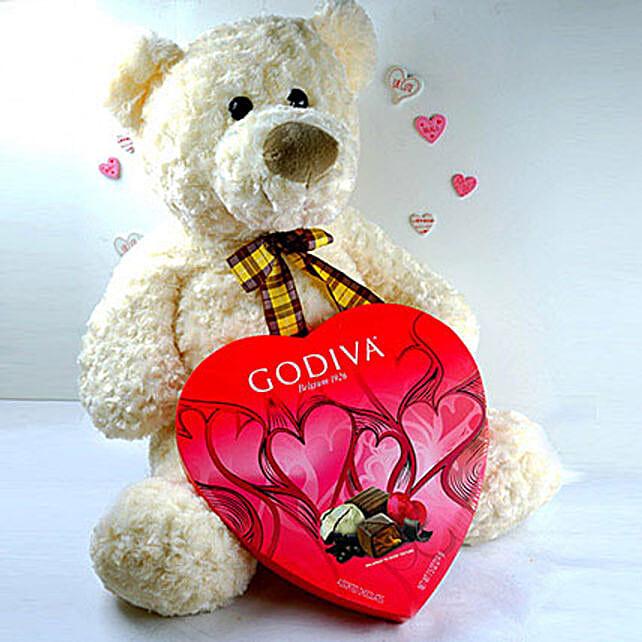 Teddy With Chocolates