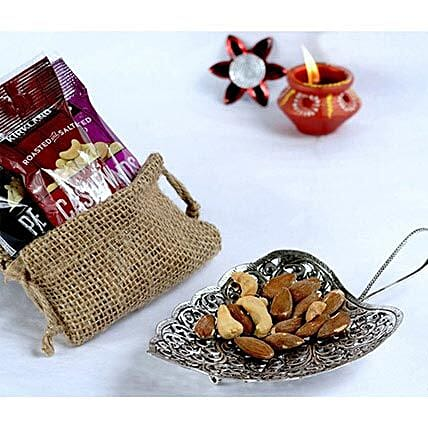 Tikka N Dry Fruits Metal Tray