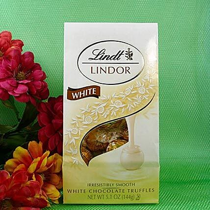 Trendy White Chocolate From Lindt