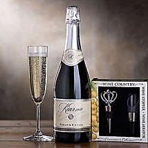 Send easter gifts to usa online easter gift delivery in usa kiarna sparkling wine gift set easter gifts negle Choice Image