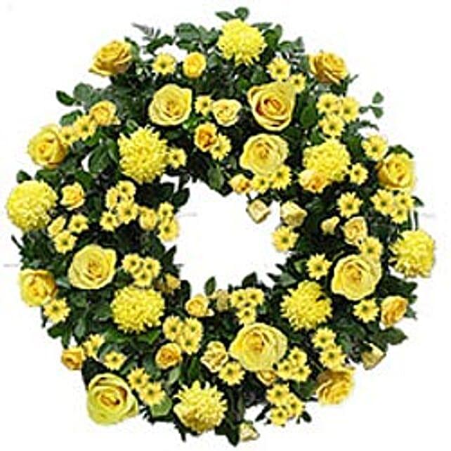 Contemporary Wreath vie